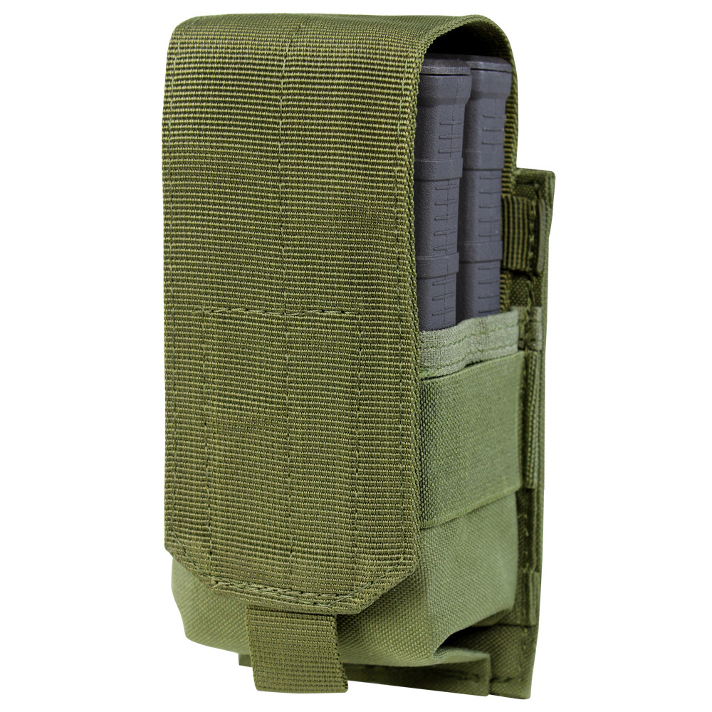 SINGLE STACKER M14 MAG POUCH - GEN II - OLIVE DRAB