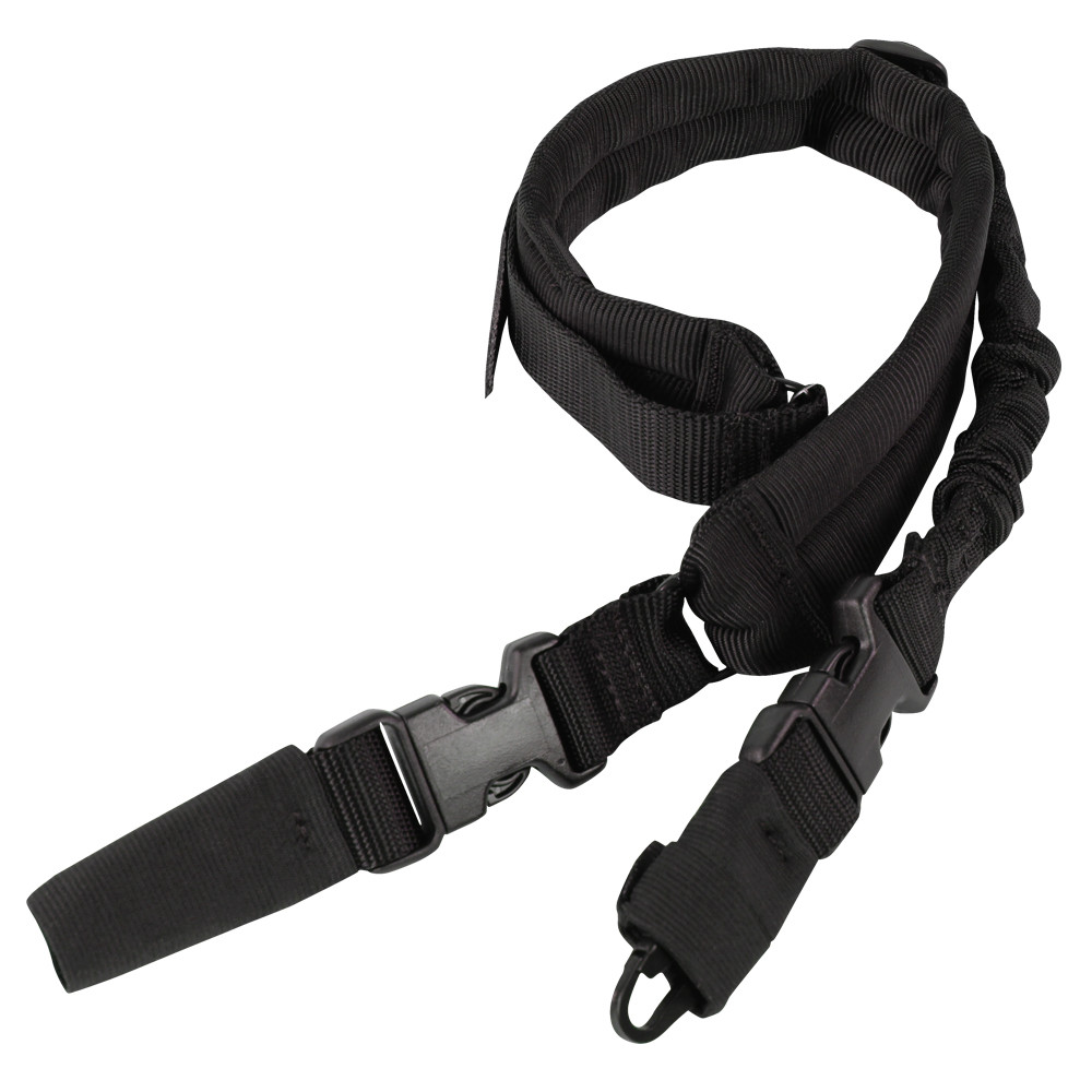 SWIFTLINK PADDED BUNGEE SLING - BLACK