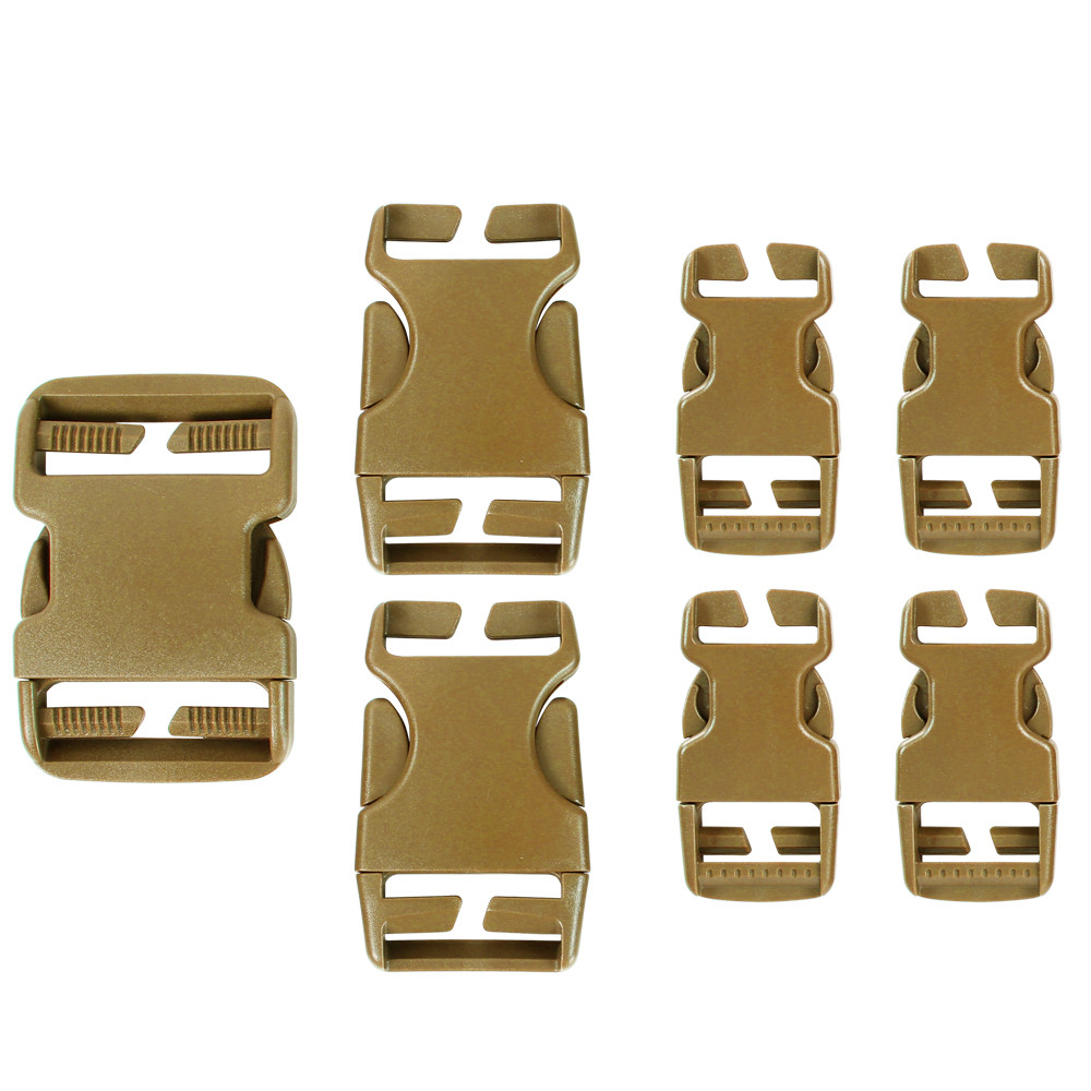 BUCKLE REPAIR KIT - COYOTE BROWN