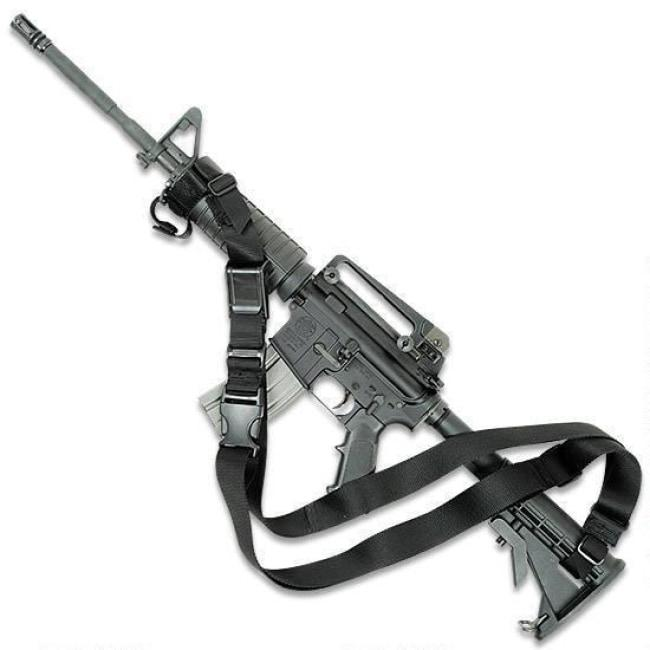 3 POINT TACTICAL SLING - BLACK