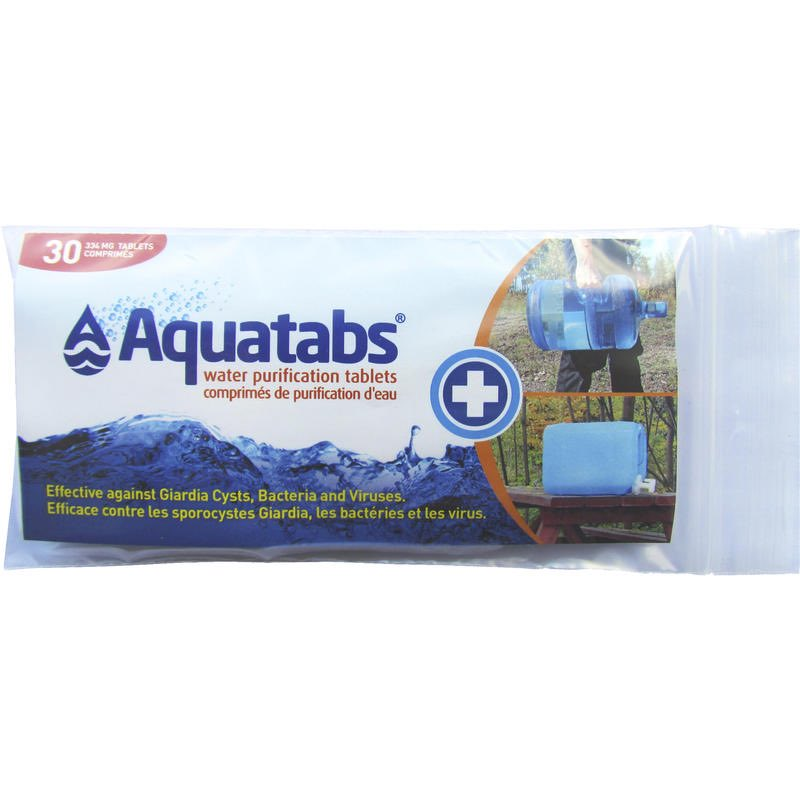 AQUATABS - TREATS 20 LITRES - 30 PACK