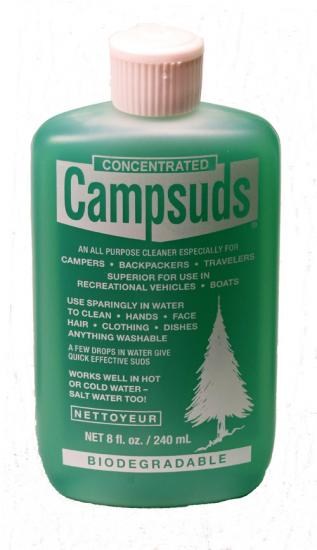 CAMPSUDS BIODEGRADABLE CLEANER - 8 OZ / 240ML