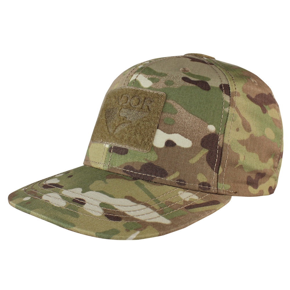 FLAT BILL SNAPBACK HAT - MULTICAM