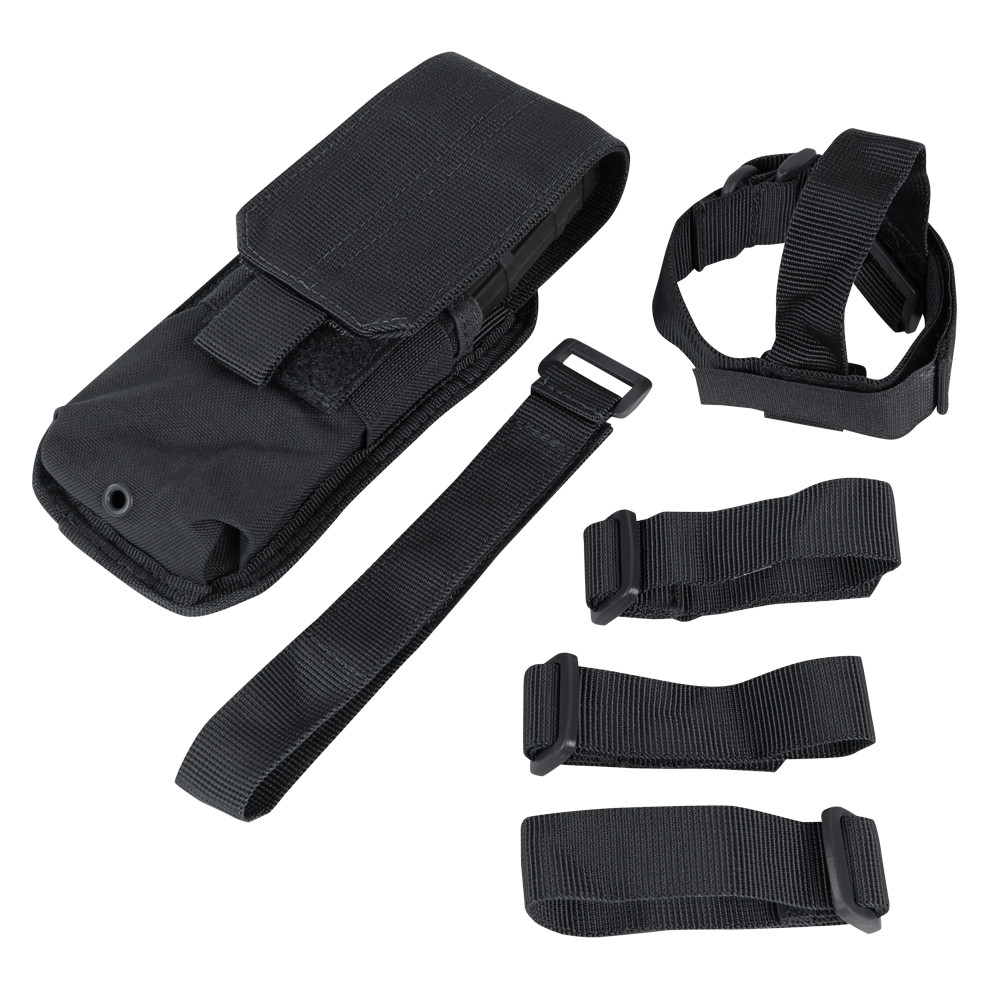 M4 BUTTSTOCK MAG POUCH - BLACK