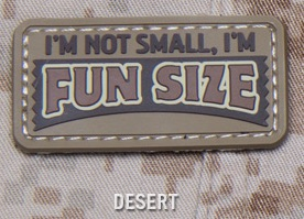 FUN SIZE PVC MORALE PATCH - DESERT
