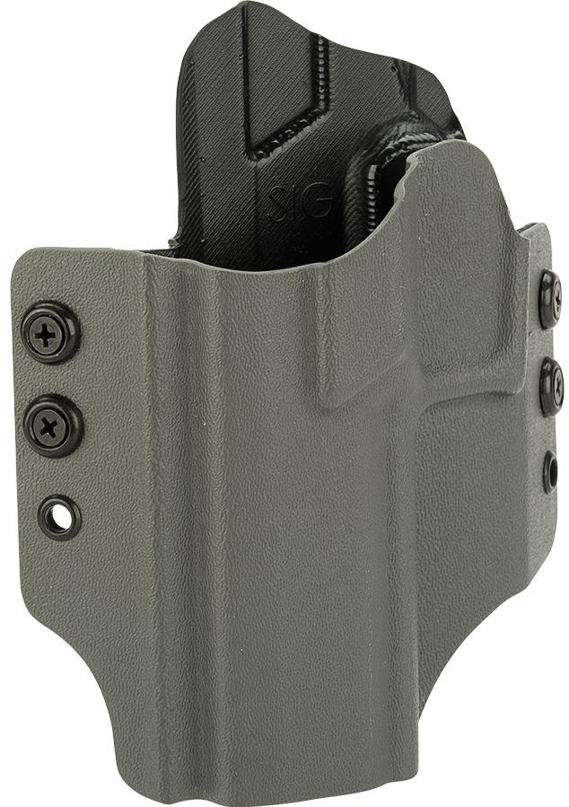 OWB KYDEX HOLSTER - SIG SAUER P320 FULL-SIZE - LEFT HAND - WOLF GREY