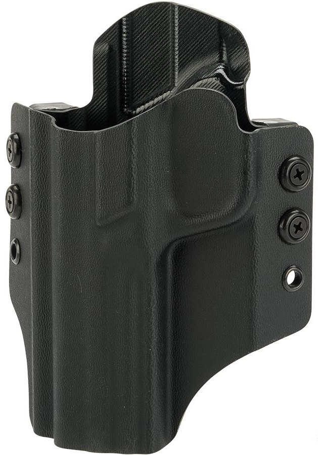 OWB KYDEX HOLSTER - S&W M&P EXTENDED - LEFT HAND - BLACK