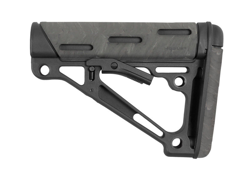 OVERMOLDED COLLAPSIBLE BUTTSTOCK - AR - COMMERCIAL - GHILLE GREEN