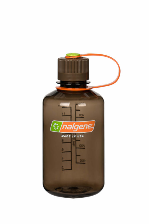 NALGENE 500ML / 16 OZ. NARROW MOUTH BPA FREE WATER BOTTLE - WOODSMAN