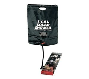 SOLAR CAMP SHOWER - 5 GALLONS