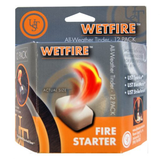 WETFIRE ALL-WEATHER TINDER - 12 PACK
