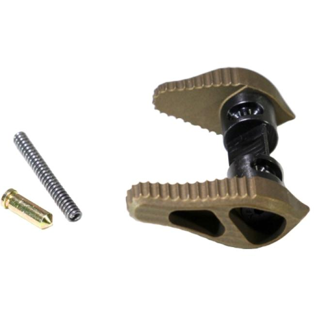 AR ALUMINUM AMBIDEXTROUS SAFETY SELECTOR - BURNT BRONZE