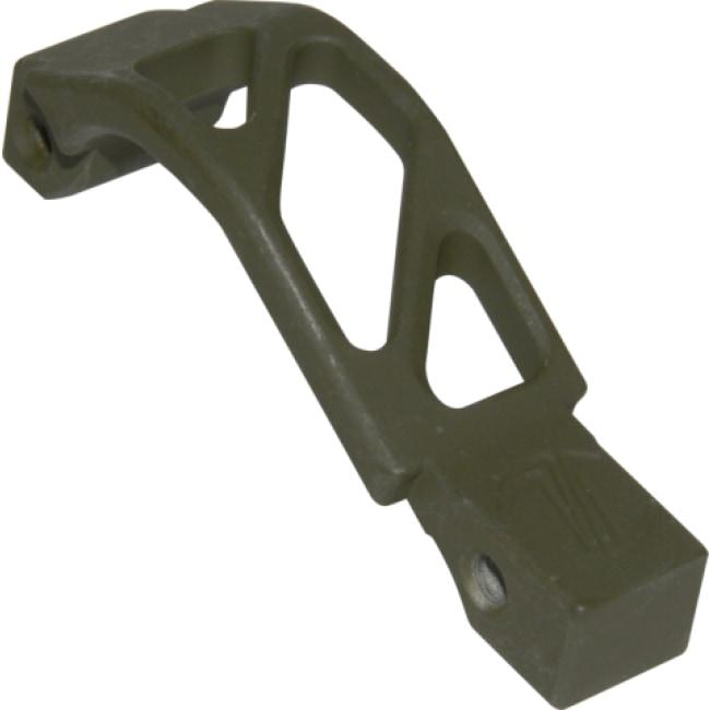AR ALUMINUM OVERSIZED TRIGGER GUARD - OD GREEN