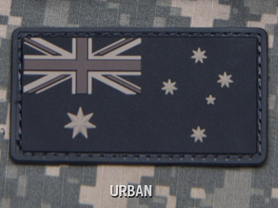 AUSTRALIAN FLAG PVC PATCH - URBAN