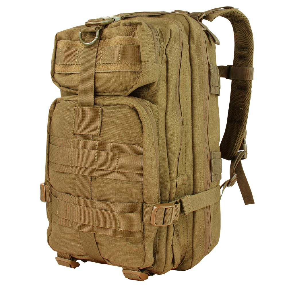 COMPACT ASSAULT PACK - COYOTE BROWN