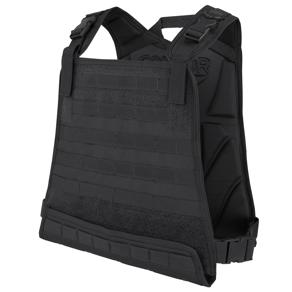 COMPACT PLATE CARRIER - BLACK