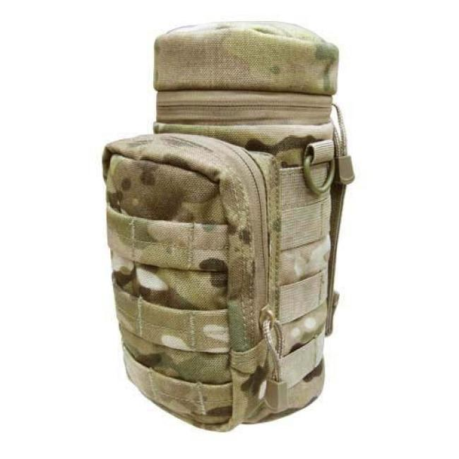 H2O WATER BOTTLE POUCH - MULTICAM