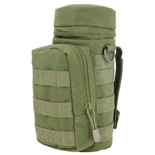 H2O WATER BOTTLE POUCH - OLIVE DRAB