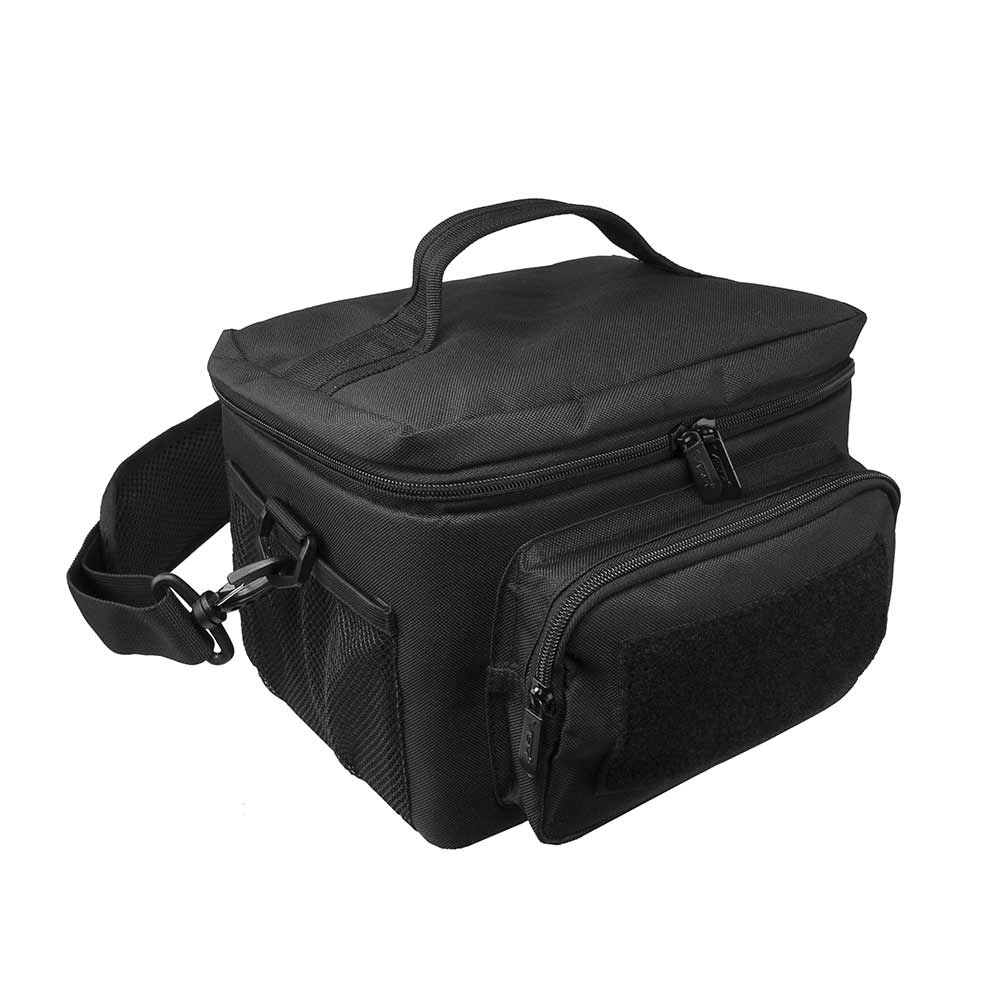 INSULATED COOLER MOLLE LUNCH BAG - BLACK