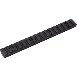 M-LOK PICATINNY RAIL - 15 SLOT - BLACK