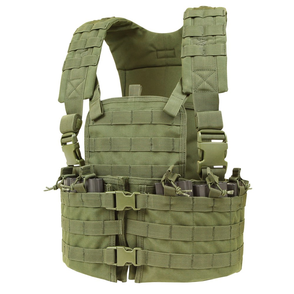 MODULAR CHEST SET WITH HYDRATION CARRIER - OLIVE DRAB