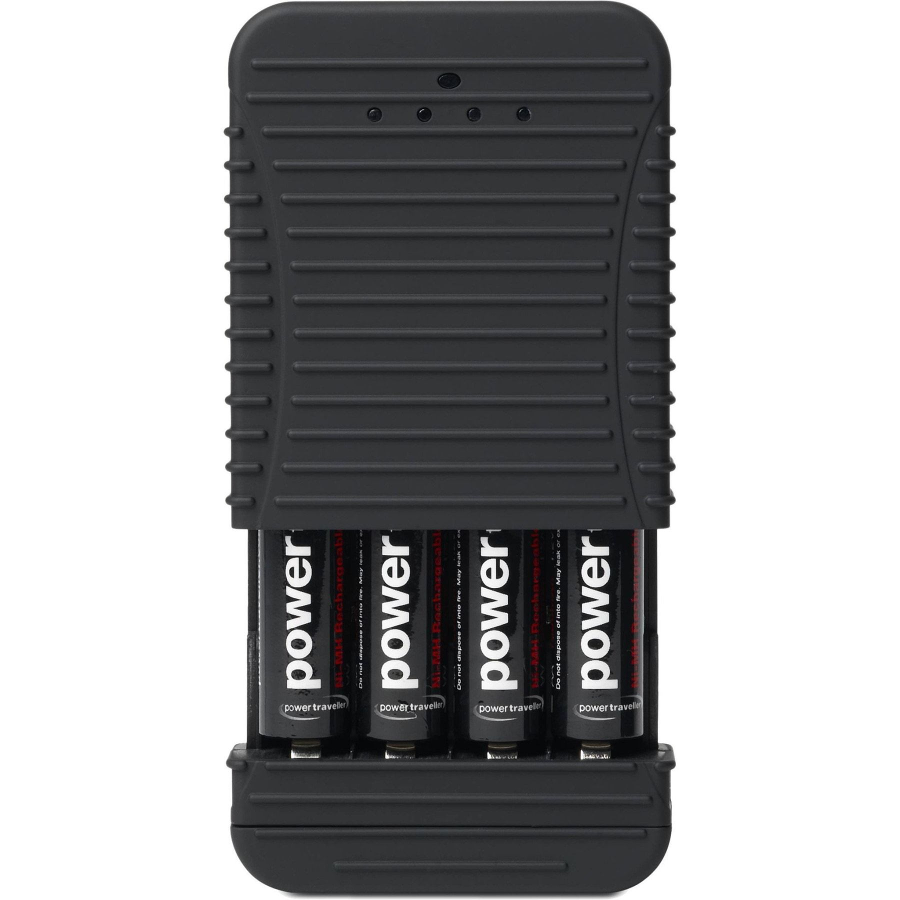 POWERCHIMP 4A PORTABLE AA/AAA BATTERY CHARGER WITH BATTERIES - CLEARANCE