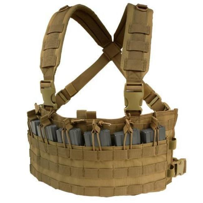 RAPID ASSAULT CHEST RIG - COYOTE BROWN
