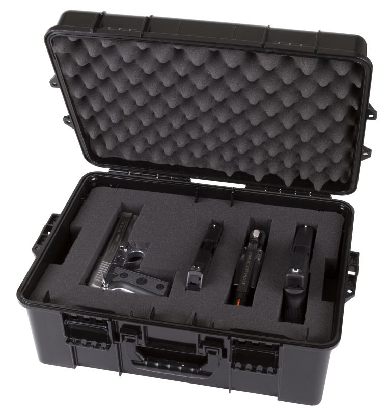 STACKHOUSE PISTOL CASE - HOLDS UP TO 8 PISTOLS