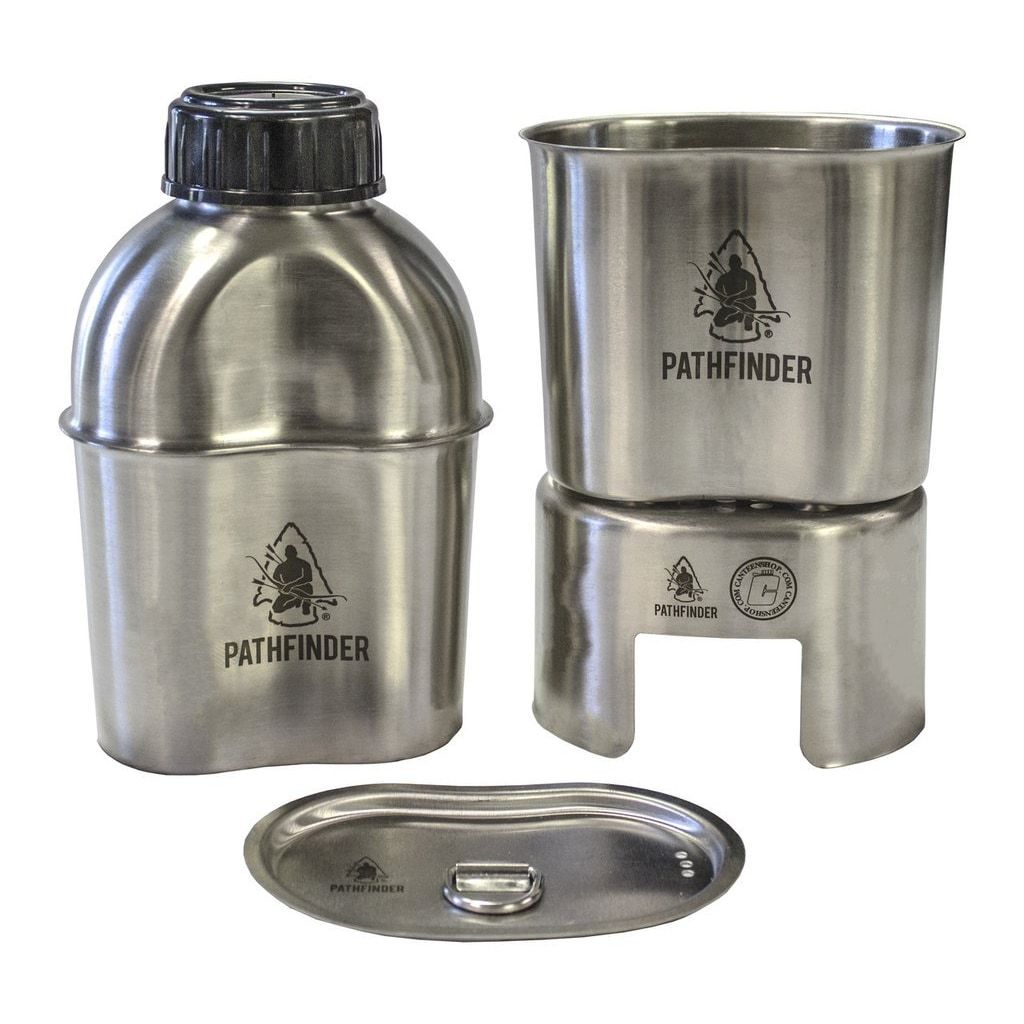GEN 2 STAINLESS STEEL WIDEMOUTH CANTEEN COOKING KIT - PATHFINDER