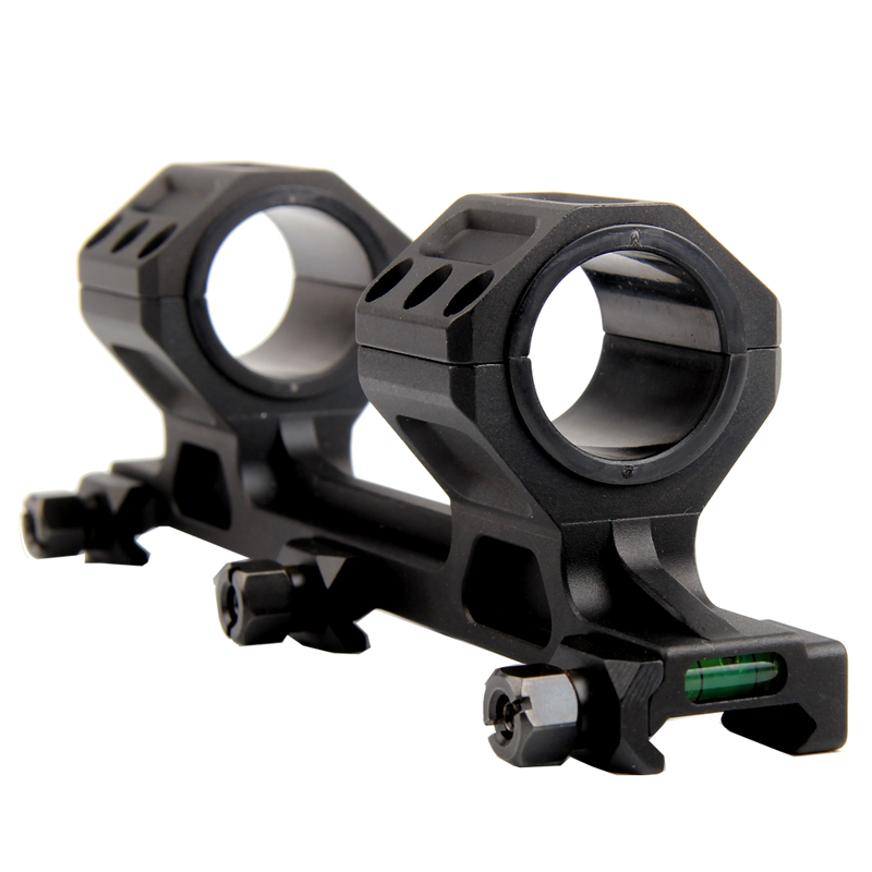 SUPER PRECISION ONE-PIECE SCOPE MOUNT - BLACK - 30MM / 1