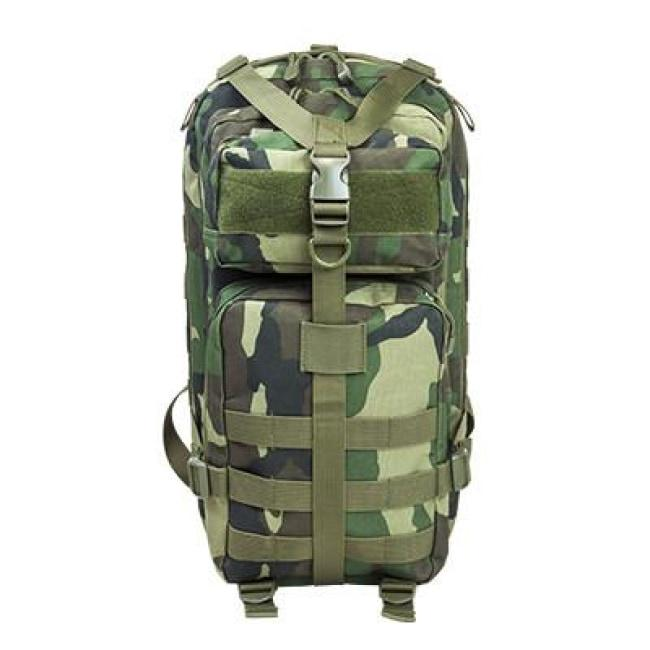 TACTICAL BACKPACK - WOODLAND CAMO