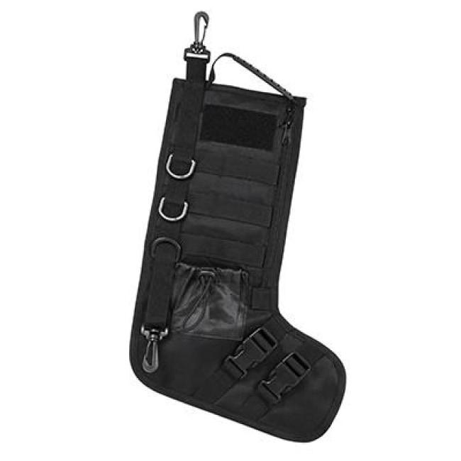 Tactical Christmas Stocking.Tactical Christmas Stocking Black
