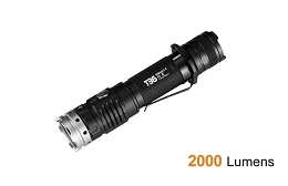 2,000 LUMEN TACTICAL FLASHLIGHT KIT - USB-C RECHARGEABLE - ACEBEAM T36 6500K
