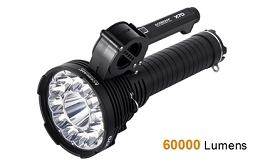 60,000 LUMEN FLASHLIGHT/SEARCHLIGHT- ACEBEAM X70
