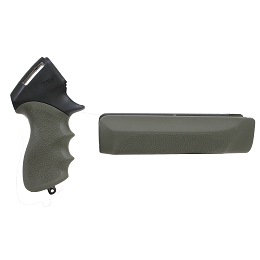 TAMER SHOTGUN PISTOL GRIP & FOREND - REMINGTON 870 12 GA. - OD GREEN