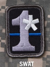 1 ASSTERISK PATCH - SWAT