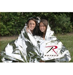 TWO PERSON POLARSHIELD SURVIVAL BLANKET