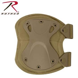 LOW PROFILE TACTICAL KNEE PADS - COYOTE BROWN