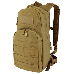 FUEL HYDRATION DAYPACK & 2.5 LITRE WATER BLADDER - COYOTE BROWN