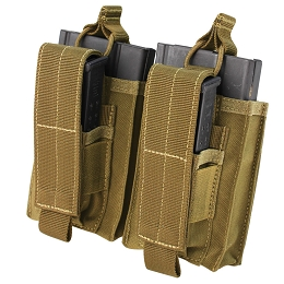DOUBLE KANGAROO M14 MAG POUCH - COYOTE BROWN
