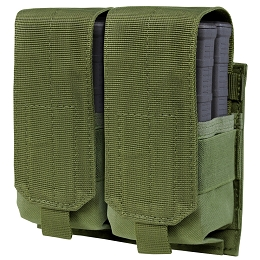 DOUBLE STACKER M14 MAG POUCH - GEN II - OLIVE DRAB