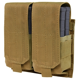 DOUBLE STACKER M14 MAG POUCH - GEN II - COYOTE BROWN