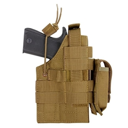1911 AMBIDEXTROUS MODULAR MOLLE HOLSTER - COYOTE BROWN