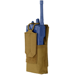 PATROL RADIO POUCH - COYOTE BROWN