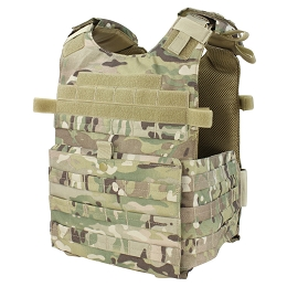GUNNER QUICK RELEASE PLATE CARRIER - MULTICAM