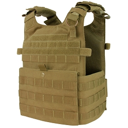 GUNNER QUICK RELEASE PLATE CARRIER - COYOTE BROWN