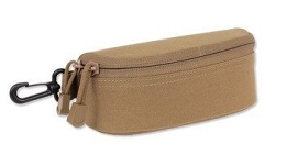SUNGLASSES / GLASSES CASE - COYOTE BROWN