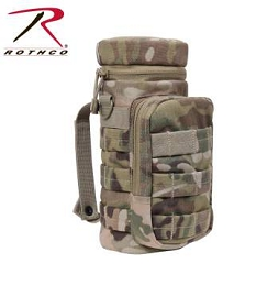 MOLLE COMPATIBLE WATER BOTTLE POUCH - MULTICAM