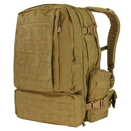 3-DAY ASSAULT PACK (MODEL 125) - COYOTE BROWN