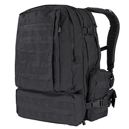 3-DAY ASSAULT PACK (MODEL 125) - BLACK